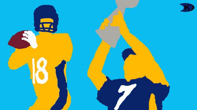 Denver Broncos Elway Manning