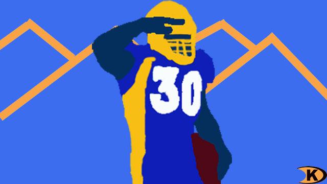 Terrell Davis Denver Broncos